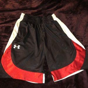 Under Armour Boys Medium Basketball Shorts